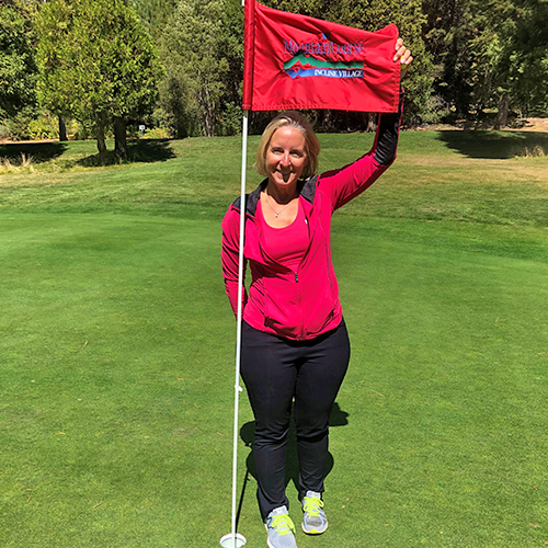 annette hole in one mountain course